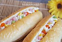 简单易学的色拉面包#东菱魔法云面包机#的做法