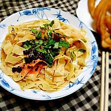 嘎巴菜――天津传统小吃#蔚爱边吃边旅行#