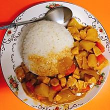 咖喱土豆洋葱胡萝卜鸡胸肉