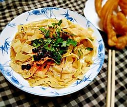 嘎巴菜――天津传统小吃#蔚爱边吃边旅行#的做法