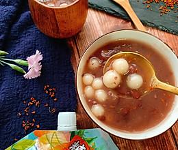 #糖小朵甜蜜控糖秘籍#治愈系小吃-桂花赤豆圆子的做法