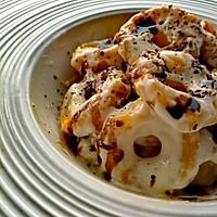 帕达诺干酪酱汁南瓜饺