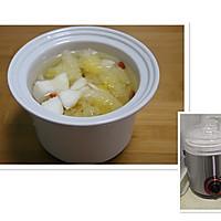 蜂蜜雪梨银耳羹【四季甜品】的做法图解3