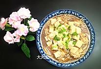 金针菇烧豆腐的做法