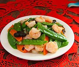 荷兰豆炒虾仁#春天不减肥,夏天肉堆堆#的做法