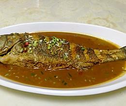 家烧海鲈鱼的做法