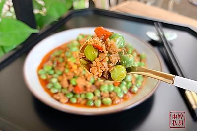 川味肉末豌豆