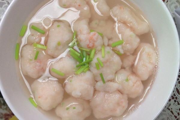 清汤虾滑的做法