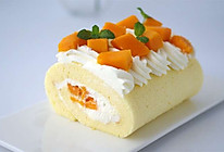 芒果奶油蛋糕卷的做法