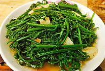 清炒蕨菜的做法