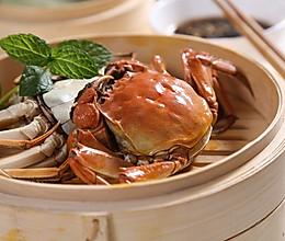 自动烹饪锅简单做清蒸河蟹的做法