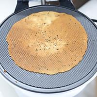 黑芝麻蛋卷 必脆配方的做法图解4