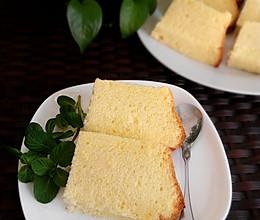 15cm中空原味戚风蛋糕的做法