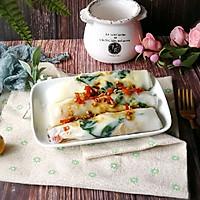 #硬核菜谱制作人#肉粒菠菜肠粉的做法图解15