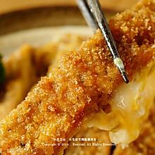 日式猪排饭 | 鲜美嫩滑蛋液包裹香酥猪排
