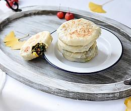 薄皮大馅的素菜馅饼 #快手又营养,我家的冬日必备菜品#的做法