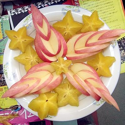 苹果杨桃水果盘