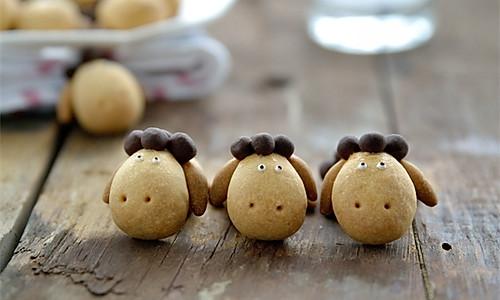【番茄配方】小羊曲奇的做法