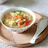 清爽夏日:番茄疙瘩蛋花汤