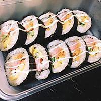【寿司系列】基础:简易寿司卷。的做法图解5