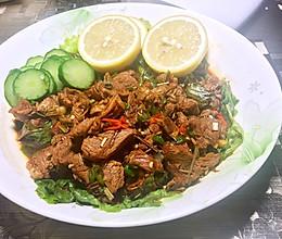 东南亚香茅柠檬小炒牛肉(Lok Lak新篇)的做法