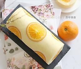 """满满""""一颗橙子""""的香橙蛋糕卷的做法"""