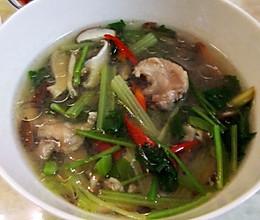 香菇肉片汤的做法