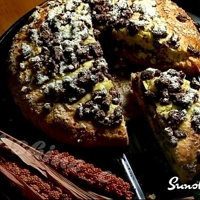 星巴克红豆松饼