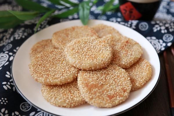 苹果糯米饼的做法