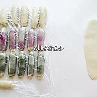 紫薯 抹茶 原味(豆沙酥)玉米油版的做法图解10