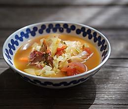 昨日的美食 | 浓菜汤的做法