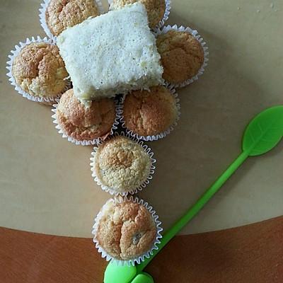 婴儿辅食香蕉蛋糕(蒸烤两种)