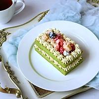 猕猴桃菠菜沙拉蛋糕#柏翠辅食节_秋季辅食#