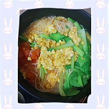 西红柿鸡蛋面(早餐面)