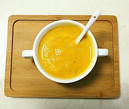 美味健康低脂的南瓜牛奶浓汤的做法
