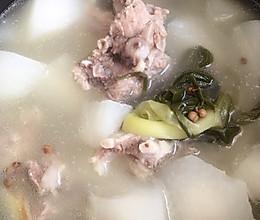 电饭煲炖排骨萝卜汤的做法