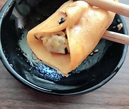 超鲜美的鸡肉玉米锅贴的做法