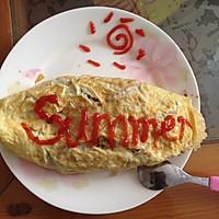 蛋包饭的做法图解8