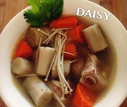 【❤汤】牛蒡胡萝卜排骨汤的做法