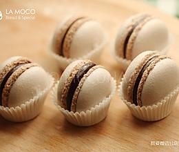 MACARON的初体验-可可巧克力马卡龙的做法