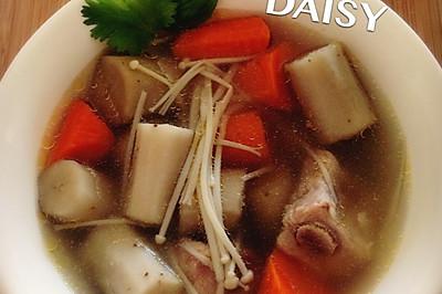 【❤汤】牛蒡胡萝卜排骨汤