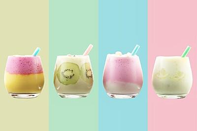 """【微体兔菜谱】水果思慕雪丨高颜值""""网红""""饮品"""