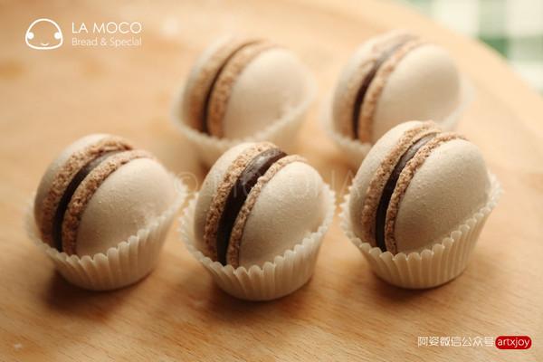 MACARON的初体验-可可巧克力马卡龙