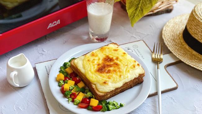 #营养小食光#库克三明治 白酱的制作方法的做法
