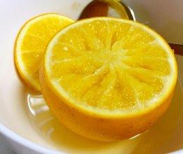 盐蒸橙子——止咳化痰。的做法