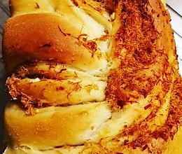肉松面包(面包机和面款)的做法