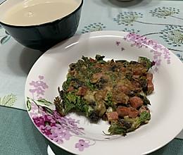 营养丰富的芹菜叶饼的做法