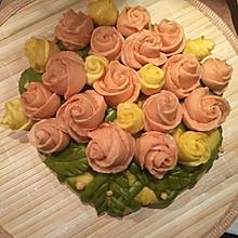 中式馒头的馍馍生日蛋糕