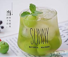 #夏日消暑,非它莫属#夏日限定冰饮--青提绿茶雪碧的做法