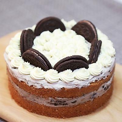 奥利奥咖啡海绵蛋糕